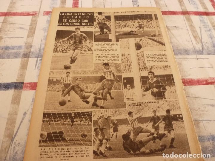 Coleccionismo deportivo: (ML)LEAN(5-5-58)BILBAO 3 ESPAÑOL 2,BARÇA 4 GRANADA 1,BASORA Y COQUE,XXIII VUELTA CICLISTA BARCELONA - Foto 8 - 109519379