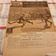 Coleccionismo deportivo: (ML)LEAN(19-5-58)COPA ESPAÑOL 1 VALLADOLID 1,ZARAGOZA 3 BARÇA 4,TAKEMOTO Y BLUME,TENIS.. Lote 109522079