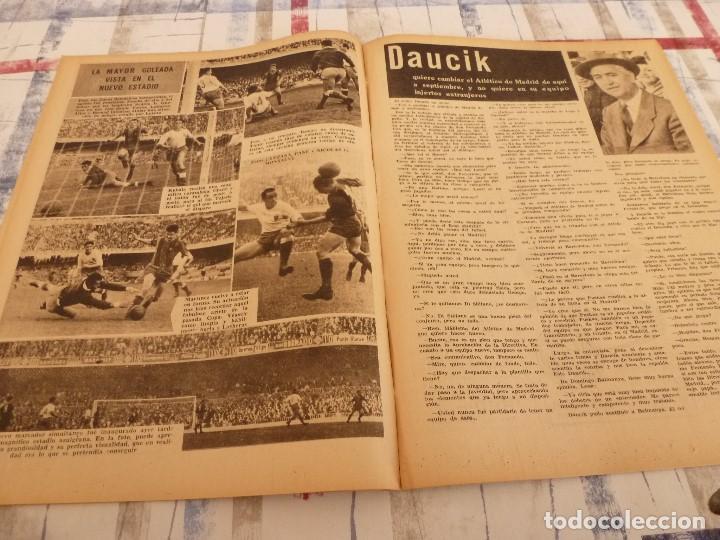 Coleccionismo deportivo: (ML)LEAN(26-5-58)BARÇA 8 ZARAGOZA 0,LUIS SUAREZ Y LASHERAS,VALLADOLID 2 ESPAÑOL 2,DAUCIK,LUIS PUIG. - Foto 4 - 109523567