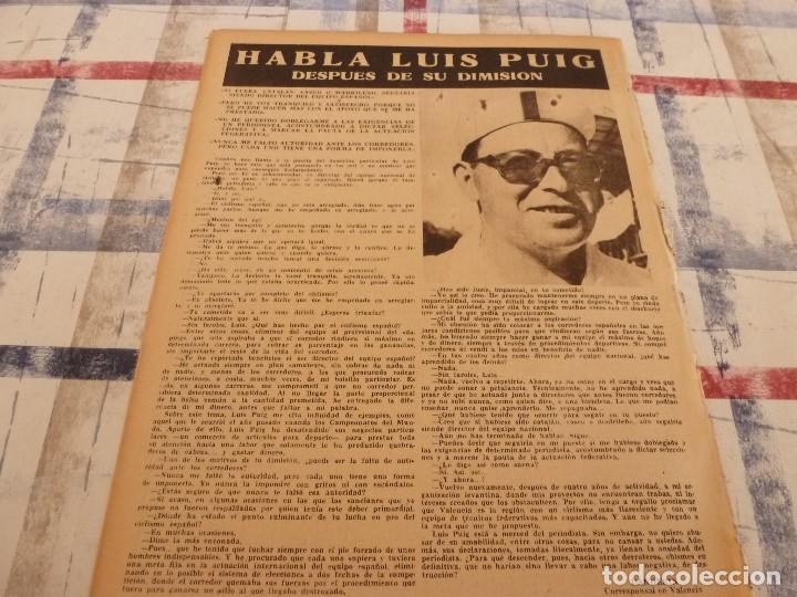 Coleccionismo deportivo: (ML)LEAN(26-5-58)BARÇA 8 ZARAGOZA 0,LUIS SUAREZ Y LASHERAS,VALLADOLID 2 ESPAÑOL 2,DAUCIK,LUIS PUIG. - Foto 6 - 109523567