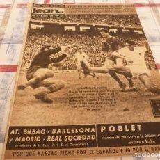 Coleccionismo deportivo: (ML)LEAN(9-6-58)KASZAS(ESPAÑOL)VALENCIA 0 BARÇA 1,FRANCISCO PLATÓN.. Lote 109524255