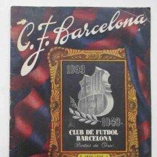 Coleccionismo deportivo: C.F. BARCELONA - BODAS DE ORO - 1899-1949. Lote 109559291