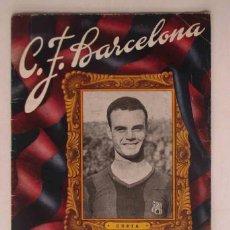 Coleccionismo deportivo: C.F. BARCELONA - PARTIDO CON EL A. BOLDKLUB DE COPENHAGUE. Lote 109559767