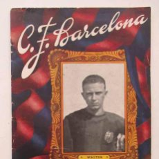 Coleccionismo deportivo: C.F. BARCELONA - PARTIDO LIGA BARCELONA - ATLETIC DE BILBAO. Lote 109560095