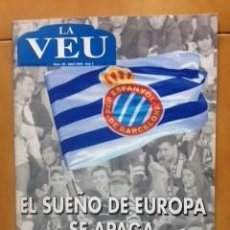 Coleccionismo deportivo: REVISTA ESPORTIVA LA VEU Nº 29 ABRIL ANY 2008 - RCD ESPANYOL . Lote 110230495