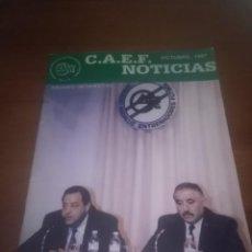 Coleccionismo deportivo: C.A.E.F. COLEGIO ANDALUZ ENTRENADORES FUTBOL. OCUTBRE 1997 NOTICIAS. Nº 16. EST13B3. Lote 110286455