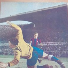 Coleccionismo deportivo: REVISTA DICEN 1956 RCD ESPAÑOL BARCELONA SAMITIER PACO BRU TEJADA CATA PERFECTA CONS CICLISMO FUTBOL. Lote 110515579