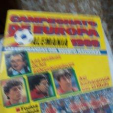 Coleccionismo deportivo: REV.CAMPEONATO DE EUROPA 1988 ALEMANIA. Lote 110526306