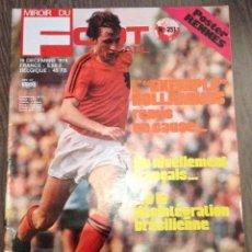 Coleccionismo deportivo: CRUYFF. CRUIJFF. FOOT MAGAZINE (F) 1974. PERFECTO ESTADO.. Lote 111437311