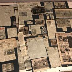 Coleccionismo deportivo: 80 RECORTES DE PERIODICO DEL R.C.D.ESPANYOL AÑOS 50. Lote 111527899