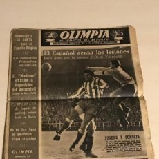 Coleccionismo deportivo: OLIMPIA SUPLEMENTO GRÁFICO DE SOLIDARIDAD NACIONAL 24 FEBRERO 1953. Lote 111532779