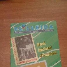 Coleccionismo deportivo: REVISTA DE LA UNIO ESPORTIVA LLEIDA - EL LLEIDA --SEGONA ETAPA , Nº 2 NOVIEMBRE 1994. Lote 111693667