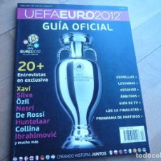 Coleccionismo deportivo: REVISTA OFICIAL EUROCOPA UCRANIA-POLONIA 2012,IMPECABLE.. Lote 111844051