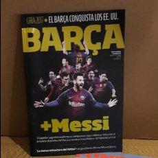 Coleccionismo deportivo: BARÇA !!. REVISTA OFICIAL F.C. BARCELONA. Nº 88 - 2017. EL BARÇA CONQUISTA LOS EE.UU. / NUEVA.. Lote 111891559