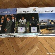 Coleccionismo deportivo: LOTE RESERVADO RP LOTE DE 59 REVISTAS OFICIALES REAL MADRID HALA MADRID LEER DESCRIPCION. Lote 111953587