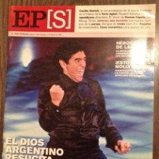 Coleccionismo deportivo: MARADONA EL PAÍS 2006. BUEN ESTADO.. Lote 112184195
