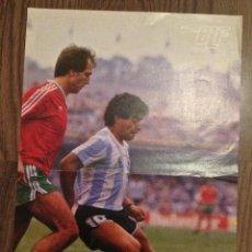 Coleccionismo deportivo: MARADONA ARGENTINA POSTER. BUEN ESTADO.. Lote 112184291