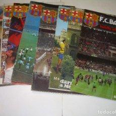 Coleccionismo deportivo: 8 REVISTAS...F.C. BARCELONA...BOLETIN OFICIAL INFORMATIVO.. Lote 112369195