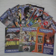 Coleccionismo deportivo: LOTE DE 12 REVISTAS TENERIFE HOY. CD TENERIFE.. Lote 102616147