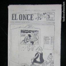 Coleccionismo deportivo: (F.1) REVISTA DEPORTIVA SATIRICA EL ONCE Nº 632 AÑO 1957. Lote 112763171