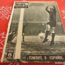 Coleccionismo deportivo: (ML)LEAN(1-1-62)BARÇA 5 R.SOCIEDAD O,TENERIFE 0 ESPAÑOL 0,HOSPITALET 2 SANS 2.. Lote 112791847