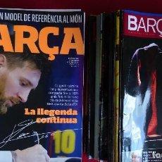 Coleccionismo deportivo: LOTE DE 37 REVISTA OFICIAL F.C. BARCELONA BARÇA VER RELACION. Lote 112797127