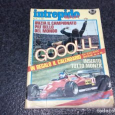 Coleccionismo deportivo: FUMETTI INTREPIDO SPORT Nº 37 POSTER CALENDARIO DEL CALCIO 1982 - 1983 ( EDICION ENITALIANO ). Lote 112994707