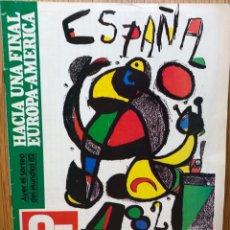 Coleccionismo deportivo: GUÍA COPA MUNDIAL FÚTBOL ESPAÑA 1982 - LA GACETA DEL NORTE (G 7 DÍAS). Lote 113264635