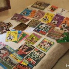 Coleccionismo deportivo: EUROCOPAS DE FUTBOL - LOTAZO REVISTAS ESPECIALES (1960 -2016). Lote 113301887