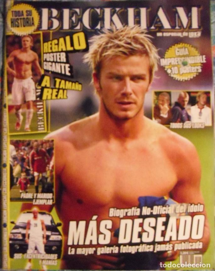 REVISTA ESPECIAL SOBRE DAVID BECHKAM (2003) - FÚTBOL (Coleccionismo Deportivo - Revistas y Periódicos - otros Fútbol)