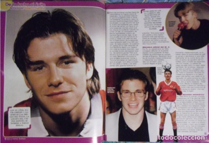 Coleccionismo deportivo: Revista especial sobre David Bechkam (2003) - Fútbol - Foto 3 - 113872667