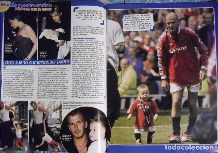 Coleccionismo deportivo: Revista especial sobre David Bechkam (2003) - Fútbol - Foto 4 - 113872667