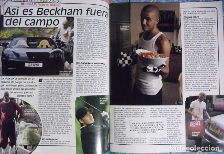 Coleccionismo deportivo: Revista especial sobre David Bechkam (2003) - Fútbol - Foto 5 - 113872667