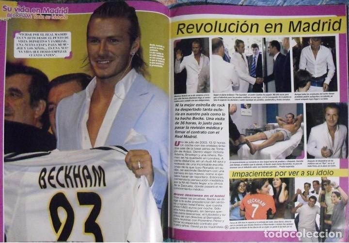 Coleccionismo deportivo: Revista especial sobre David Bechkam (2003) - Fútbol - Foto 6 - 113872667