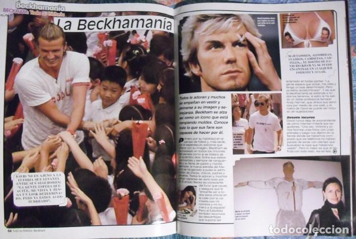 Coleccionismo deportivo: Revista especial sobre David Bechkam (2003) - Fútbol - Foto 7 - 113872667