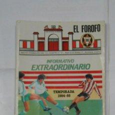 Coleccionismo deportivo: REVISTA EL FOROFO BOLETIN CLUB DEPORTIVO LOGROÑES. Nº 55. TEMPORADA 1984-85. JUNIO 1985. TDKR38. Lote 113892167