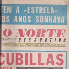 Collectionnisme sportif: PERIODICO O NORTE DESPORTIVO 6 DICIEMBRE 1973. Lote 113913875