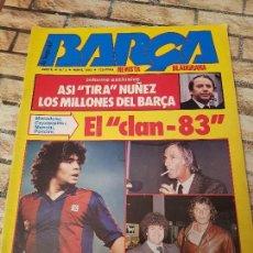 Coleccionismo deportivo: REVISTA LA SAGA DEL BARÇA. Nº 5. ABRIL 1983. . Lote 114010855