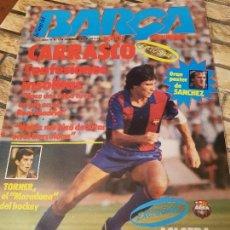 Coleccionismo deportivo: REVISTA LA SAGA DEL BARÇA. Nº 12. DICIEMBRE 1983.. Lote 114084067