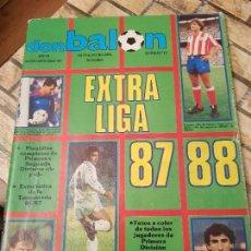 Collezionismo sportivo: DON BALON. EXTRA Nº 12. EXTRA LIGA 1987/ 1988. 87/88. Lote 114217739