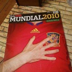 Coleccionismo deportivo: GUIA MARCA. MUNDIAL 2010 SUDÁFRICA. . Lote 114218399