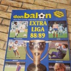 Coleccionismo deportivo: DON BALON EXTRA Nº 16. LIGA 88/89. Lote 114222339