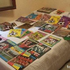 Coleccionismo deportivo: COLECCION HISTORICA- LOTAZO EXCELENTE AS COLOR Y DON BALON - DE EPOCA. Lote 114291427