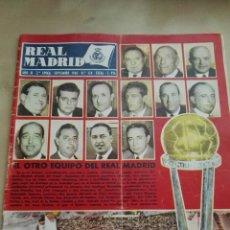 Coleccionismo deportivo: REVISTA OFICIAL REAL MADRID, SEPTIEMBRE 1960, N°124, PORTADA NÚMERO EXTRAORDINARIO . CON AUTOGRAFOS. Lote 114544416