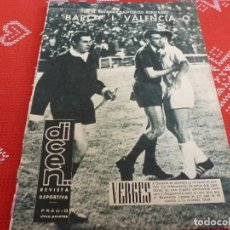 Coleccionismo deportivo: DICEN(21-6-63)DESEMPATE EN MADRID,VALENCIA 0 BARÇA 1 !!!A LA FINAL DE COPA GENERALISIMO !!!. Lote 114908211