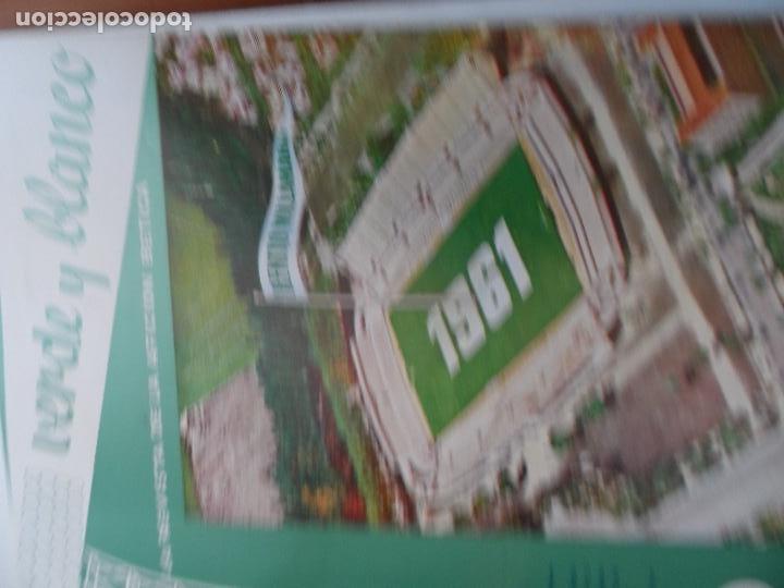 Coleccionismo deportivo: REVISTA VERDE Y BLANCO LA REVISTA DE LA AFICION BETICA REAL BETIS AÑOS 60 - Nº 1 AL 26 - Foto 12 - 114980175