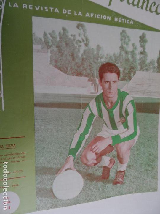 Coleccionismo deportivo: REVISTA VERDE Y BLANCO LA REVISTA DE LA AFICION BETICA REAL BETIS AÑOS 60 - Nº 1 AL 26 - Foto 22 - 114980175