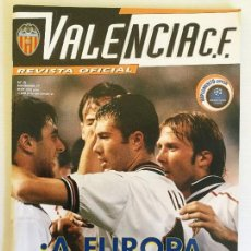 Coleccionismo deportivo: REVISTA OFICIAL VALENCIA CF NÚMERO 10 NOVIEMBRE 1999. Lote 115021783