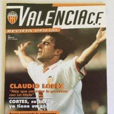 Coleccionismo deportivo: REVISTA OFICIAL VALENCIA CF NÚMERO 1 ENERO 1999. Lote 115019743