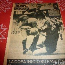 Coleccionismo deportivo: LEAN(29-4-63)BARÇA 3 MURCIA 1,MESTALLA 3 MALLORCA 2,ACTOS BODAS ORO C.D.SAN ANDRÉS.. Lote 115052927